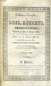 Collection Complete Des Lois, Decrets, Ordonnances, Reglemens Et Avis Du Conseil-D'Etat Tome Xxvi - Annee 1826 - Couverture - Format classique