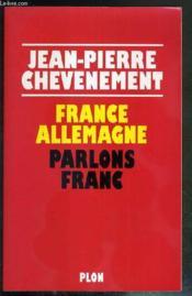 France -Allemagne Parlons Franc - Couverture - Format classique