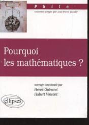Pourquoi Les Mathematiques ? - Couverture - Format classique