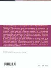 Pourquoi Les Mathematiques ? - 4ème de couverture - Format classique