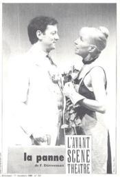Revue L'Avant-Scene Theatre ; La Panne - Couverture - Format classique