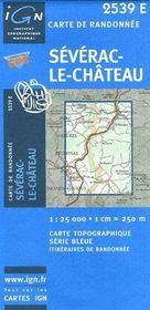 Séverac-le-Château - Couverture - Format classique