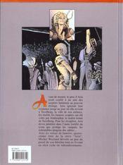 Aria t.14 ; le voleur de lumière - 4ème de couverture - Format classique