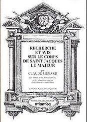 Recherche et avis sur le corps de saint jacques le majeur - Intérieur - Format classique