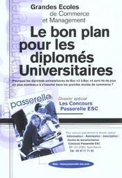 Les Metiers Apres Les Ecoles De Commerce ; Edition 2002 - 4ème de couverture - Format classique