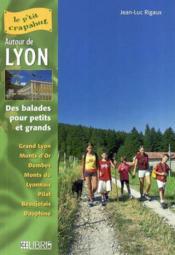 50 Itineraires Autour De Lyon - Couverture - Format classique