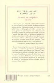 Lettres A Un Ami Pretre - 4ème de couverture - Format classique