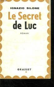 Le Secret De Luc. - Couverture - Format classique