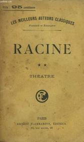Theatre Complet De J. Racine. Tome 2. - Couverture - Format classique