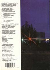 La Maitrise Du Vol - 4ème de couverture - Format classique
