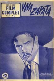 Tous Les Jeudis - Film Complet N° 340 - Viva Zapata - Couverture - Format classique