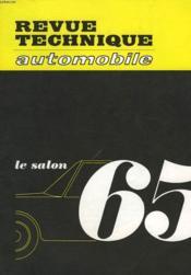 Revue Technique Automobile - N°234 - Couverture - Format classique