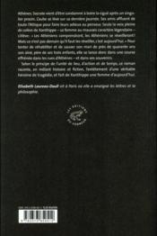 La jument de Socrate - 4ème de couverture - Format classique