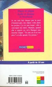 Pique Et Pique Ecole Et Drame - 4ème de couverture - Format classique