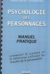 Psychologie Des Personnages : Manuel Pratique - Intérieur - Format classique