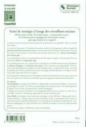 Travail Social Et Communication - 4ème de couverture - Format classique