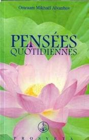 Pensees Quotidiennes 2002 - Couverture - Format classique