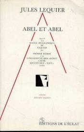 Abel Et Abel - Couverture - Format classique