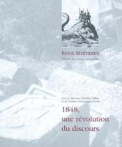 1848, une revolution du discours - Couverture - Format classique