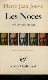 Les Noces Suivi De Sueur De Sang. Collection : Poesie. - Couverture - Format classique