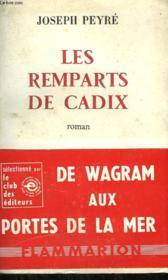 Les Remparts De Cadix. - Couverture - Format classique