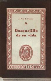 Bosquejillo De Su Vida Y Escritos - Couverture - Format classique