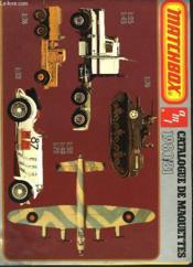 Catalogue Des Maquettes 1980-1981 - Couverture - Format classique