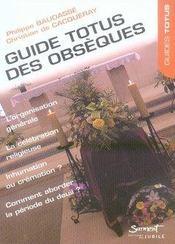 Guide totus des obsèques - Intérieur - Format classique
