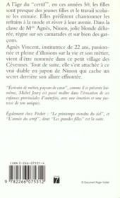 Les Grandes Filles : L'Annee Du Certif - 4ème de couverture - Format classique
