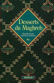 Desserts du Maghreb - Couverture - Format classique