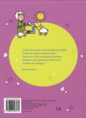 Bloc de jeux super amusants ; sudoku (9/10 ans) - 4ème de couverture - Format classique