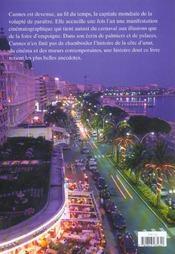 La légende de Cannes - 4ème de couverture - Format classique