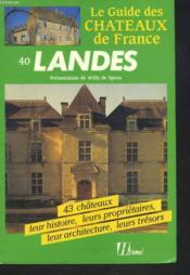 Chateaux Landes - Couverture - Format classique