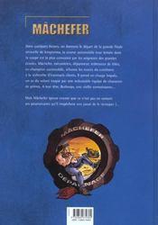 Machefer t.1 ; une huile en fuite - 4ème de couverture - Format classique