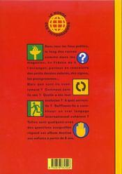 Le monde des pictogrammes - 4ème de couverture - Format classique