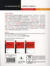 Droit des sociétés ; préparation au examens - 4ème de couverture - Format classique