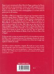 Jet Li ; Les Griffes Du Dragon - 4ème de couverture - Format classique