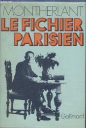 Collection Soleil. Le Fichier Parisien. - Couverture - Format classique