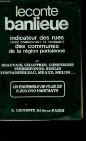 Guide De La Banlieue De Paris - Couverture - Format classique