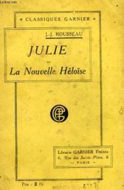 Julie Ou La Nouvelle Heloise - Couverture - Format classique