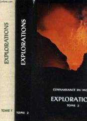 Explorations - En 2 Volumes : Tomes 1 + 2 / Collection Connaissance Du Monde - Couverture - Format classique