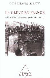 La greve en france - Intérieur - Format classique