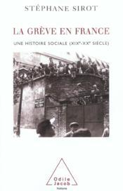 La greve en france - Couverture - Format classique