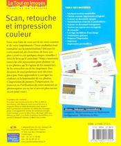 Scan, retouche et impression - 4ème de couverture - Format classique