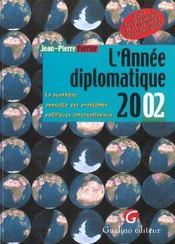 L'annee diplomatique 2002 - Intérieur - Format classique