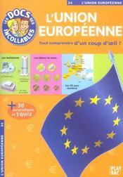 L'union européenne - Intérieur - Format classique