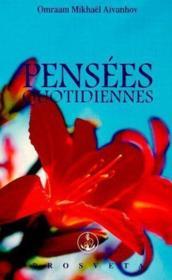 Pensees Quotidiennes 2003 - Couverture - Format classique