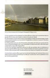 250 réponses aux questions d'un flâneur parisien - 4ème de couverture - Format classique