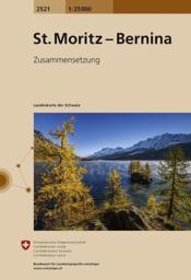 St. Moritz - Bernina - Couverture - Format classique