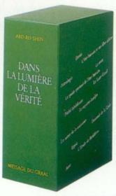 Coffret Dans La Lumiere De La Verite - Couverture - Format classique